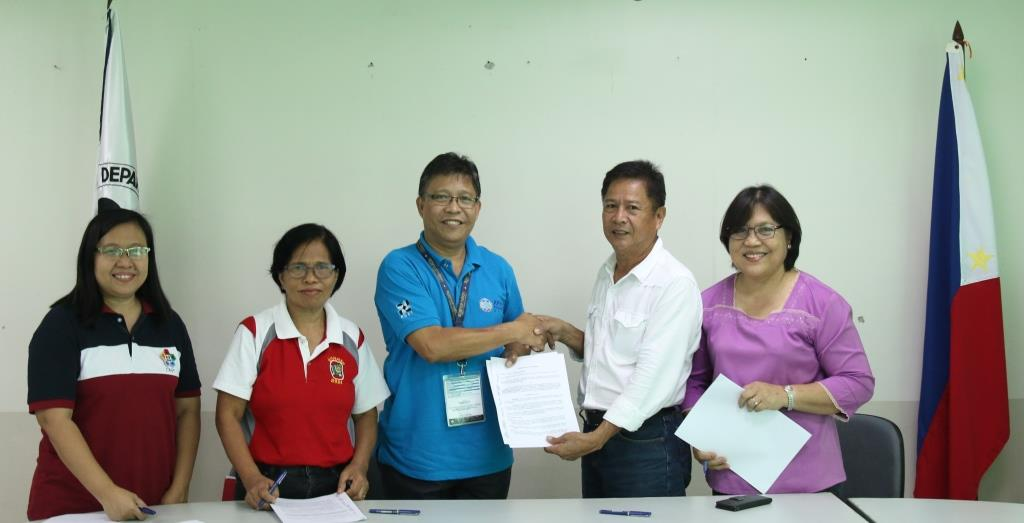 MOA signing DMMMSU